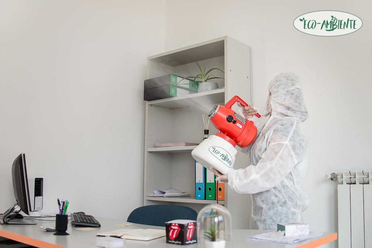 sanificazione ambiente e Covid-19