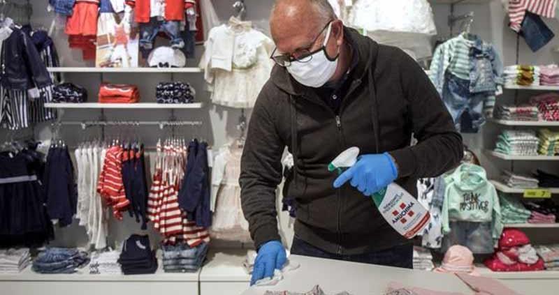 Come pulire un negozio